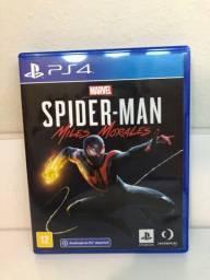 Spider Man Miles Moraes ps4 e ps5