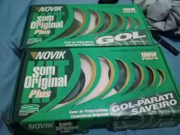 Kit som novix original plus 180 w para vender ligeiro e barato