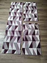 Título do anúncio: Tapetes Antiderrapantes 3 peças
