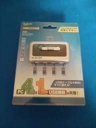 Switch para impressora Elecom NOVO