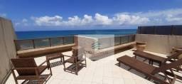 Título do anúncio: Apartamento frente mar com 2 dormitórios à venda, 115 m² por R$ 480.000 - Areia Preta - Na