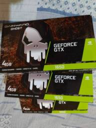 Título do anúncio:  GTX 1650 4GB GDDR6 GAINWARD GHOST EM 10X DE 250 SEM JUROS