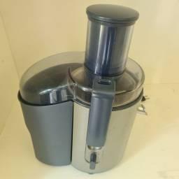 Centrífuga de alimentos elétrica  Juicer preta  120V