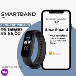 Novo Relógio Inteligente  Smart Band 5 ORIGINAL - Pulseira Fitness