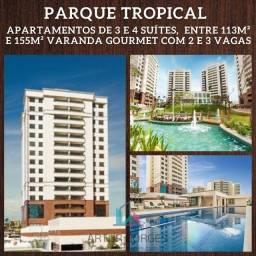Título do anúncio: Parque Tropical, 3 e 4 suíte, entre 113 à 155m² com 2 ou 3 vagas em Patamares - Autêntico