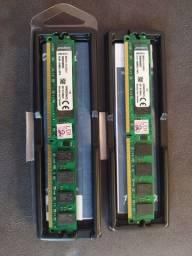 Memória 2gb Ddr2 800 Mhz Kingston- Kvr800d2n6/2gb<br><br>