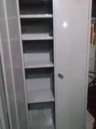 Título do anúncio: ECM móveis novos e usados Armário multi uso de aço com prateleiras seminovo