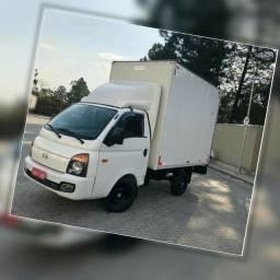 Título do anúncio: Frete e Mudança caminhão baú HR todo o estado de Goiás etc