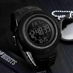 Relógio Masculino Digital Skmei 1251 Preto 5ATM Original