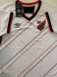 Camisa feminina oficial 2 Athletico