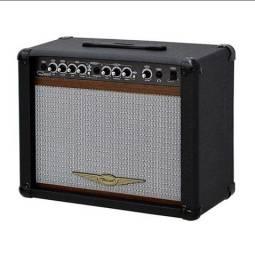 Cubo p/ Guitarra Oneal Ocg 200 Preto BK Novo - Somos Loja