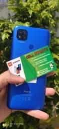 Xiaomi Redmi 9c 64gb/3gb Ram Dual Sim Com Garantia De 6 Meses Cor Azul