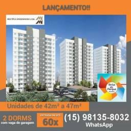 Apartamentos de 2 dormitórios Próximo ao Parque das Águas #ce11