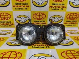 Par de Farol de Milha original Fiat Palio/ Siena/ Strada /Doblo com lâmpadas