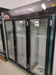 Expositor refrigerado 3 portas pronta entrega *douglas