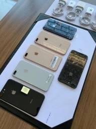Iphone 8 Plus - Preto/Gold/Silver 64gb