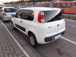 Título do anúncio: Fiat Uno Vivace Branco 2015 Flex 2 portas 1.0 Impecável