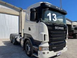 Scania R440 ano:13,13,branco,ar condicionado,traçado 6x4( bug leve),ótimo estado.