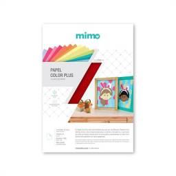 Papel Color Plus Vermelho Toquio 180gr - Mimo - A4 - 30 Folhas