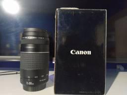 Título do anúncio: Lente Canon 75-300
