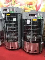 v- Assador de frangos 100 ou 130kg de capacidade