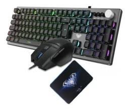 Título do anúncio: Kit Teclado mouse e gamepad