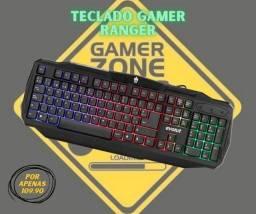 Teclado para gamers EG-201 - Evolut - Top de linha