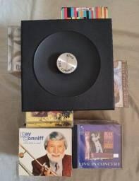 Coleção com 108 CDs de Músicas (diversos estilos) + brinde