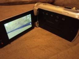 Câmera, filmadora Samsung na caixa