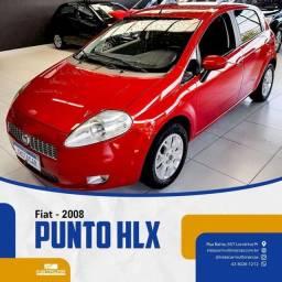 Título do anúncio: PUNTO HLX 1.8 8v Flex 4P 2007