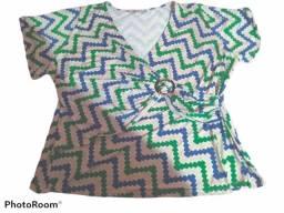 Blusa Colorida n° 52