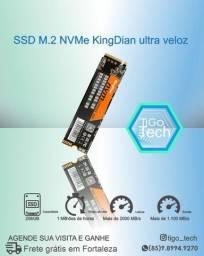 Título do anúncio: SSD 256GB Nvme Pci-e