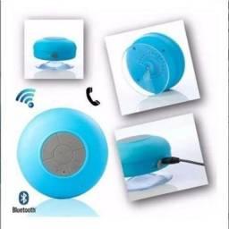 Caixinha via Bluetooth de ventosa resistente a água atende ligações $45