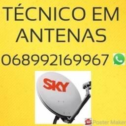 Antenas Técnicos Técnico instalador//