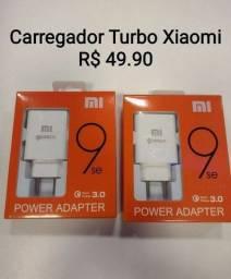 Carregador Turbo Xiaomi Tipo-C<br>Por 49,90<br>