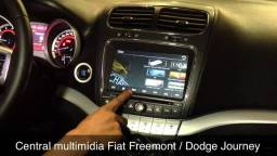 Título do anúncio: Central Multimidia  Fiat Freemont 8 polegadas Novo
