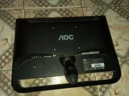Monitor aoc,Modelo F19L 18,5 polegadas