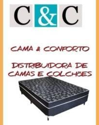 Título do anúncio: //CAMA BOX CASAL, CABECEIRA, ENTREGA GRÁTIS//