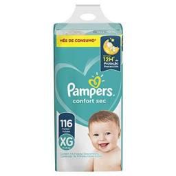 Fralda Pampers Confort Sec XG 116 Unidades