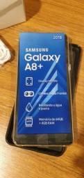Samsung A8 + Dourado