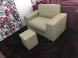 Sofá sofá sofá sofá sofá de 2 lugares tecido CORVIN