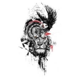Título do anúncio: Tattoo tatuagem promoção apenas custo do material
