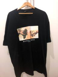 Camiseta Wnated - money trees GG