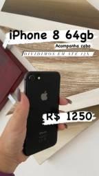 iPhone 8 64gb SEMI BOVO ( promoção/c garantia)