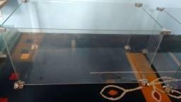 Título do anúncio: Caixa Desmontavel de Vidro Temperado 60x30x30cm... Ótimo Para Casinha de Hamsters!!!