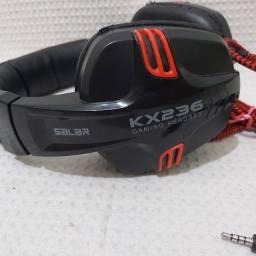 Título do anúncio: fone de ouvido gamer usb salar kx236