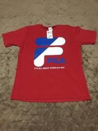 Camiseta Fila Masculina e Feminina