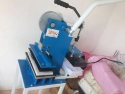 Máquina de fábrica e estampar Samdalias