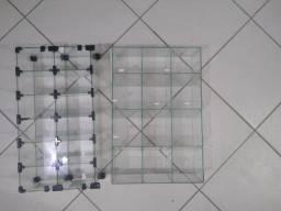 Baleiros em vidro