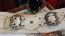 Fivela Eberle Corneta N 143 Bonezinho Piteira Antiga Original de Alpaca